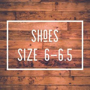 Women's shoes size 6-6.5